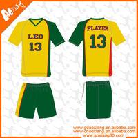 LS081 Latest style OEM team soccer jersey,football shirt,soccer uniform set