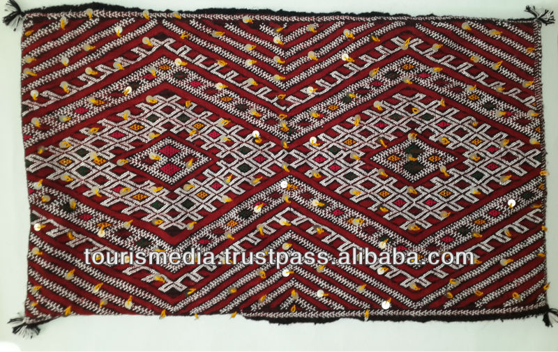 Large Berber moroccan Kilim cushion cover 90cm x 52cm