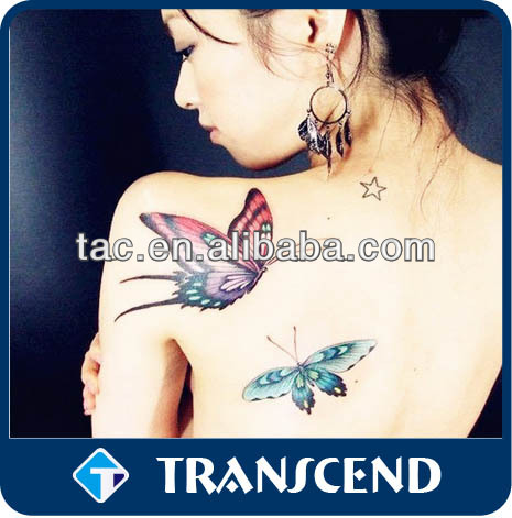 Beautiful Body Art Tattoo Sticker/Body Art Foil Gold Silver Tattoo Temporary/body arts swallow designs body personal care