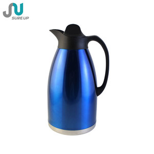 Afghanistan stainless steel insulation large vacuum flask coffee tea pot thermos 3.0L(JSBZ)