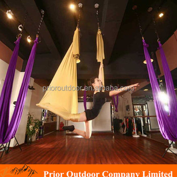 Aerial Yoga Swing-High Quality Yoga Hammock Silk (See 20 fabric colours) Fabric ONLY
