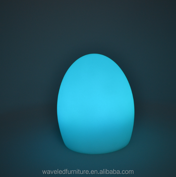 Cur Battery Operated Mini Led Lights Christmas Egg Shaped