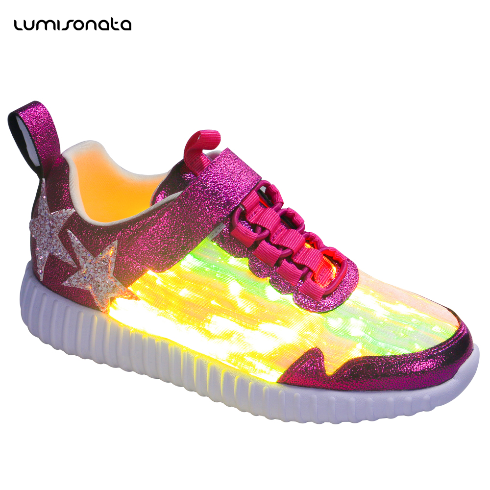 up LED led party Fashion hop sport 2018 shoes dance running Latest Light for hip qTwRyEI