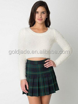 High School Girls Plaid Skirt Uniform,Fashion Luxurious School ...