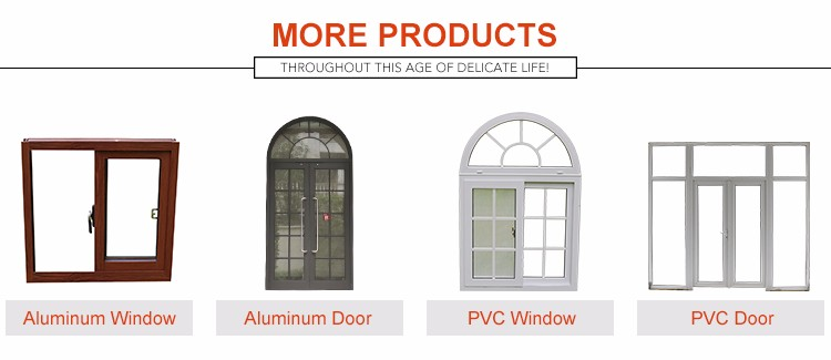 Manufacture Good Quality Aluminium Double Glass Glazed Casement Door Price