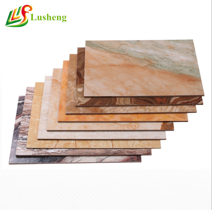 High glossy pvc marble sheet waterproof <strong>abs</strong> plastic sheet for vacuum forming