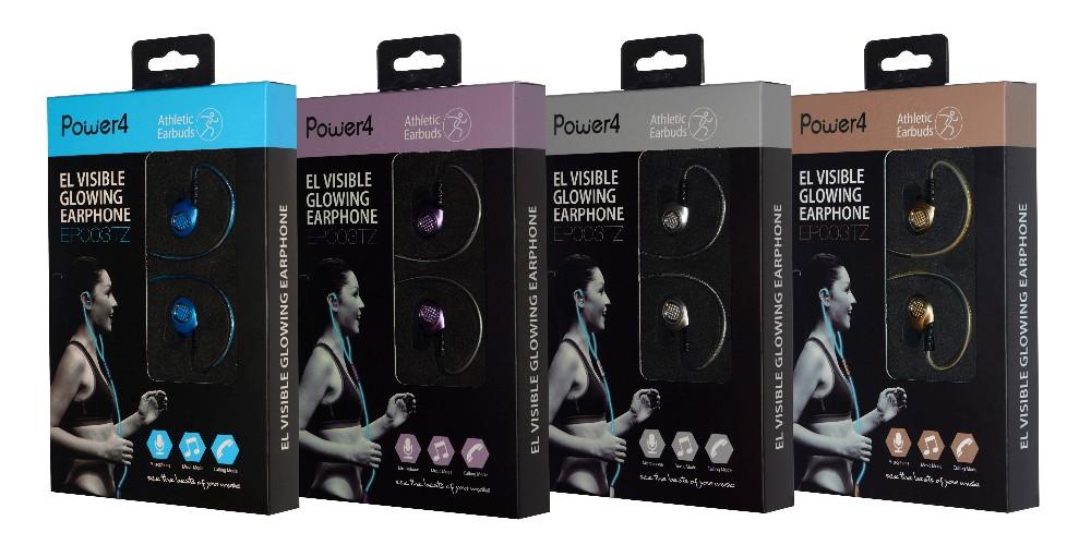 702e5ff682f EL Laser Light Glowing headphones,Classic Premium Earbuds with Mic Stereo  Headphones | Earphone