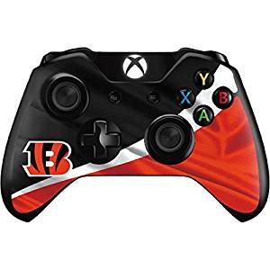 NFL Cincinnati Bengals Xbox One Controller Skin - Cincinnati Bengals Vinyl Decal Skin For Your Xbox One Controller