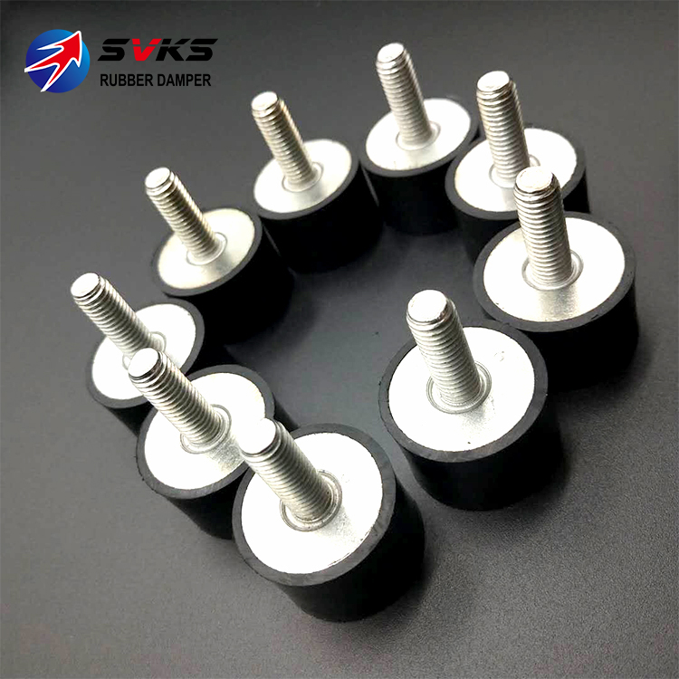 Tools Sporting M8 Thread Male/male 40x40mm Anti Vibration Rubber Mount Isolator Absorber Buffer In Many Styles