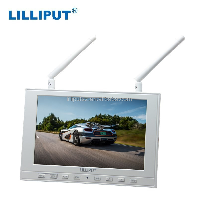 Lilliput 339/dw 5.8ghz 7 Inches Tft Lcd Widescreen Fpv Monitor For ...