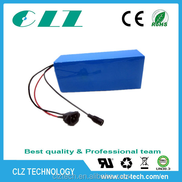 lithium ion 10Ah 24 volt battery pack with lower impendance
