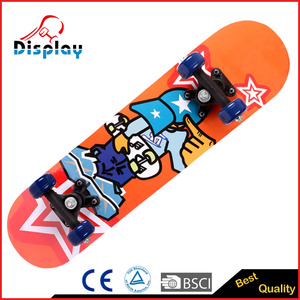 Powered Electric Kids Maple Skateboard Price from China Supplier