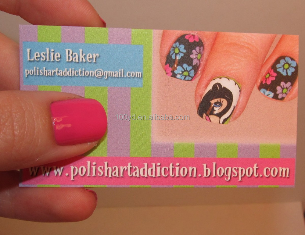 Nails Business Card Design, Nails Business Card Design Suppliers ...