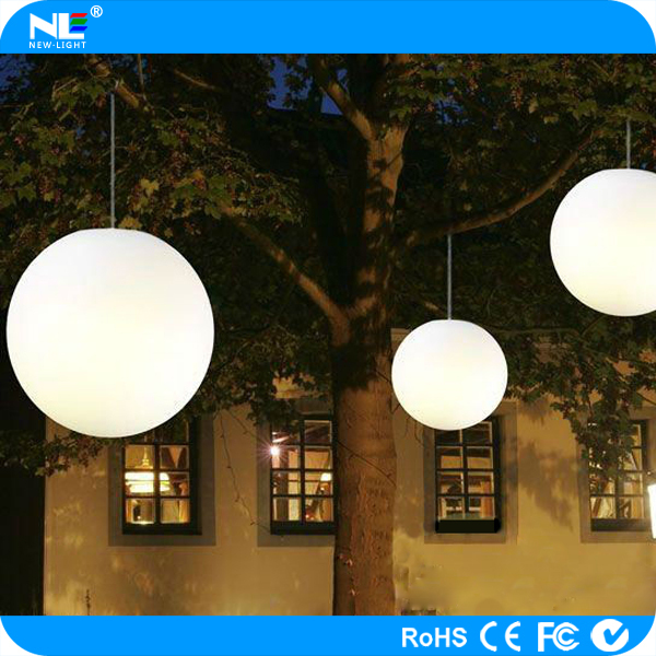 Color Changing Outdoor Led Hanging Light Balls / Christmas And ...
