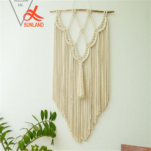 W1733 Macrame Fibre Arts Macrame Wall Art Woven Wall Hanging