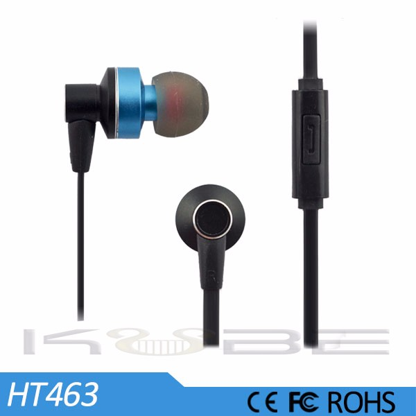 2015 mobile phone accessory in ear earphone wholesale from China