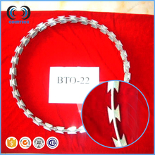 Cross Razor Razor Type and Stainless Steel Wire Material SS304 razor barbed wire