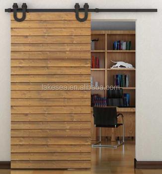 Antique Barn Door Hardware, Horseshoe Sliding Door Hangers (LS SDU 003)