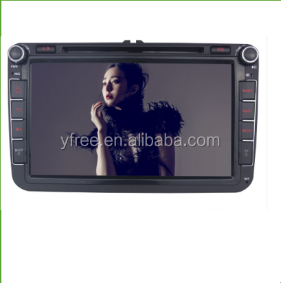 car media player for vw passat android car dvd gps auto radio central multimedia 2 double din stereo audio touch screen