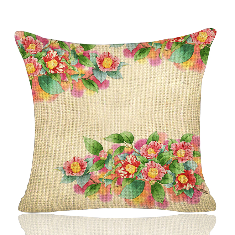 Guangzhou customised decorative cushion throw reading pillow cover