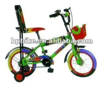 "With Back rest 16""hot sale child bicycle"