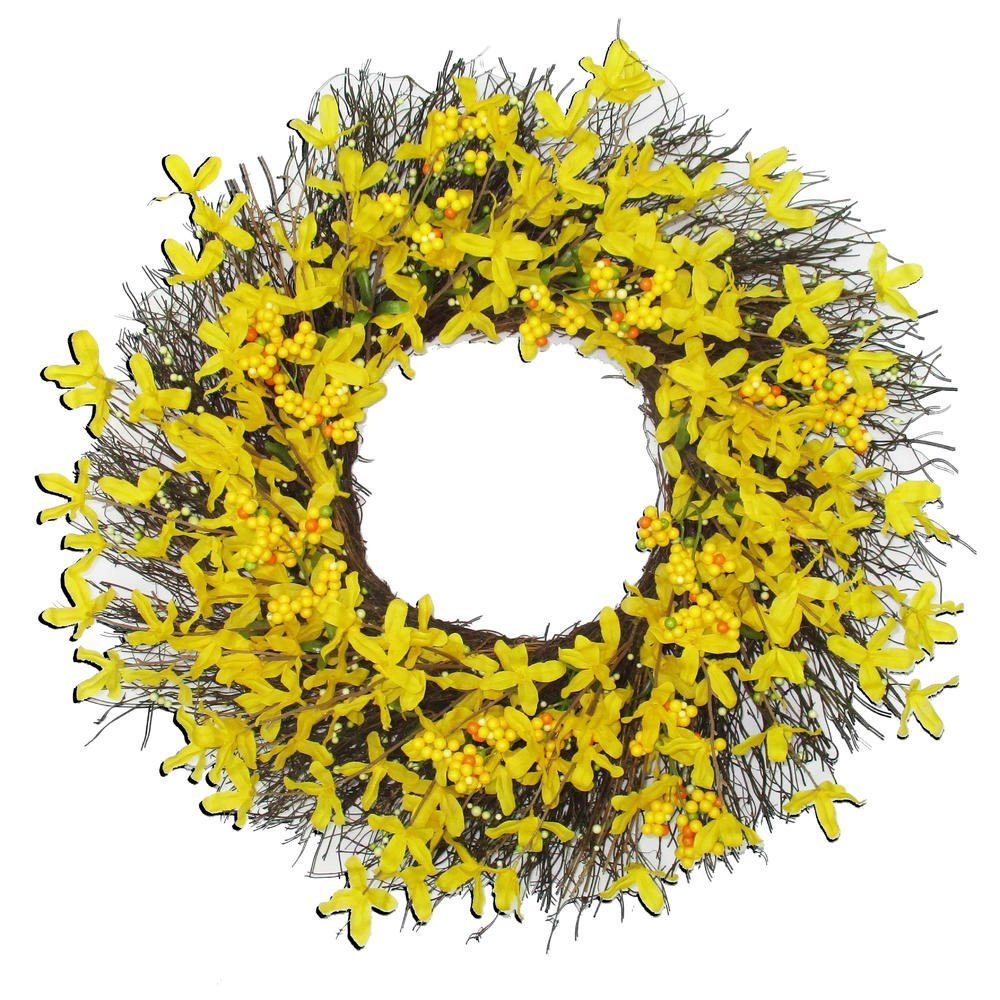 Buy Spring Floral Front Door Forsythia 22\
