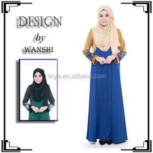 942e06a822f wholesale fashion stitch abaya dress islamic clothing for women