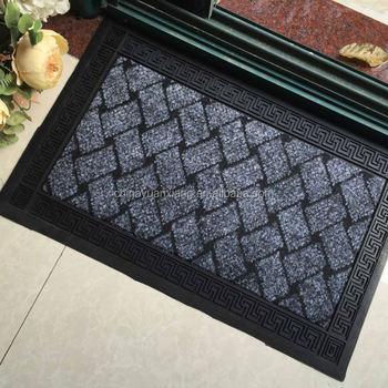 Slip Resistant Rubber Backed Floor Mats