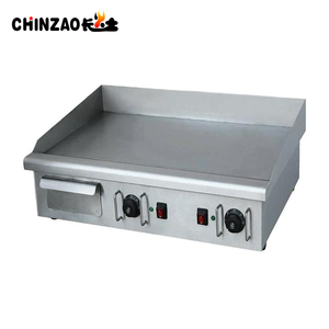 Restaurant Equipment Stainless Steel Bbq Electric Flat Griddle