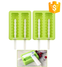 Custom Novelty 3D Ice Cream Popsicle Ice Pop Stick Silicone Popsicle Mold