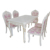 A1501 europe royal rectangle dining room table living room kitchen room food court chairs tables modern marble dining table