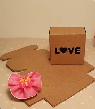 Custom Plain Brown Recycled Cardboard Craft Boxes To Decorate