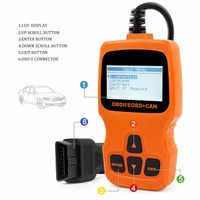 Competitive advantages electronics car diagnostic machine prices with retail hard package
