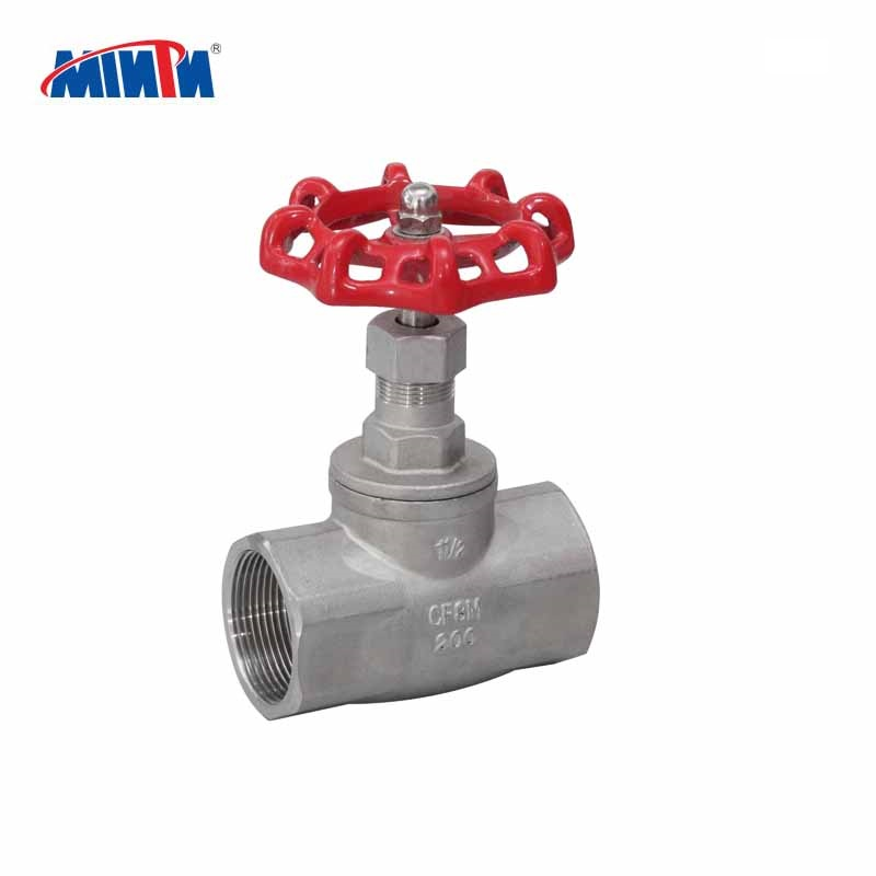 stainless steel 304 316 threaded manual hand wheel 1/2 inch-4 inch globe valve