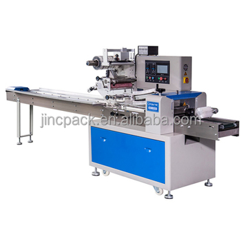 Pillow filling machine Food granola bar packaging machine