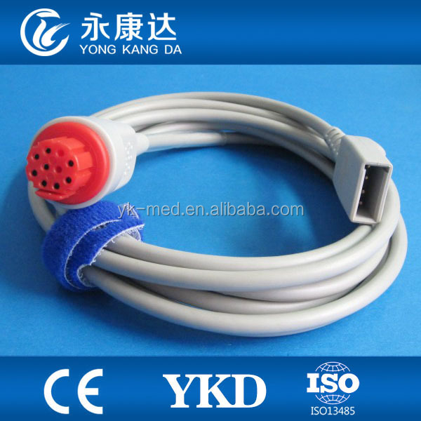 Compatible DATEX adapter BD IBP cable