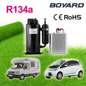 Boyard compressor 12V /24V Car Air Conditioning Machine for Van/Mini Bus, Roof Air Conditioning For Truck