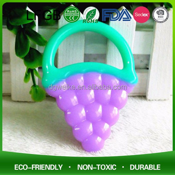 100% Safety Food Grade BPA Free Funny Silicone Baby Teether toy