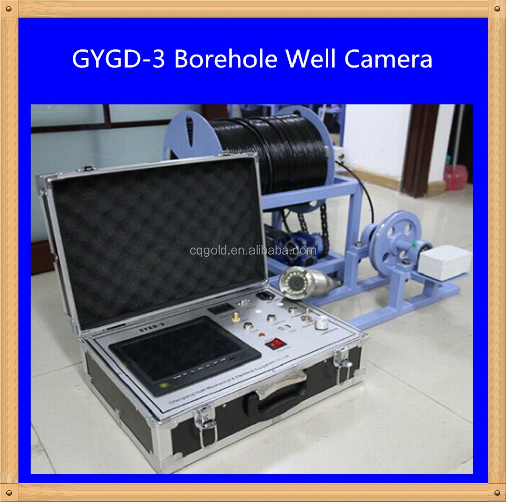 Borehole for Water Well, CCTV Camera