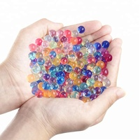 Non -toxic rainbow Pearl Crystal Shape Water Beads for plant growing