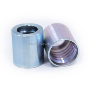 CNC Machinery stainless steel female thread hydraulic hose pipe ferrule
