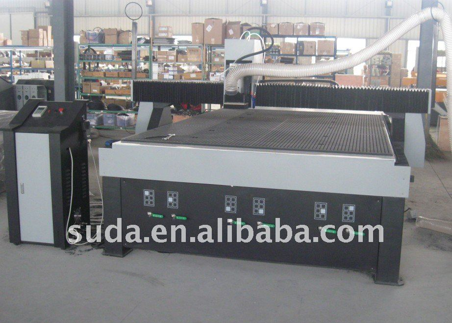 SUDA Superior Vanguard Series Large format CNC Router with ELTE spindle motor