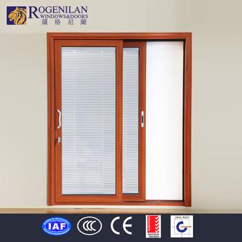Rogenilan Main Door Design Commercial Double Glass Door Electrical