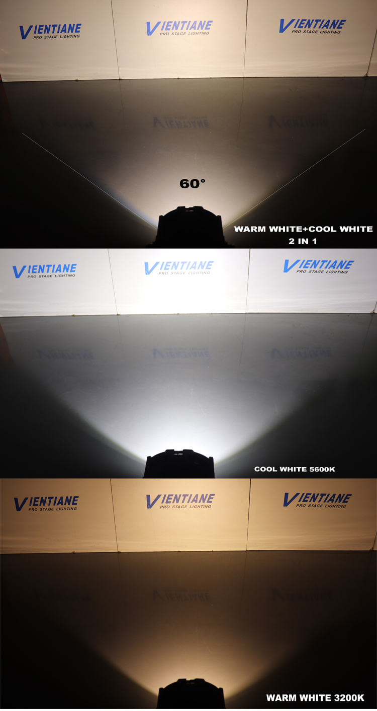 warm white par can 64 stage light 200w led cob par light