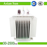 52 water proof Oil-immersed 220v 12v Power Transformer Manufacture