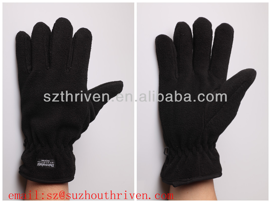 winter warm use 240g 3M thinsulate fleece gloves