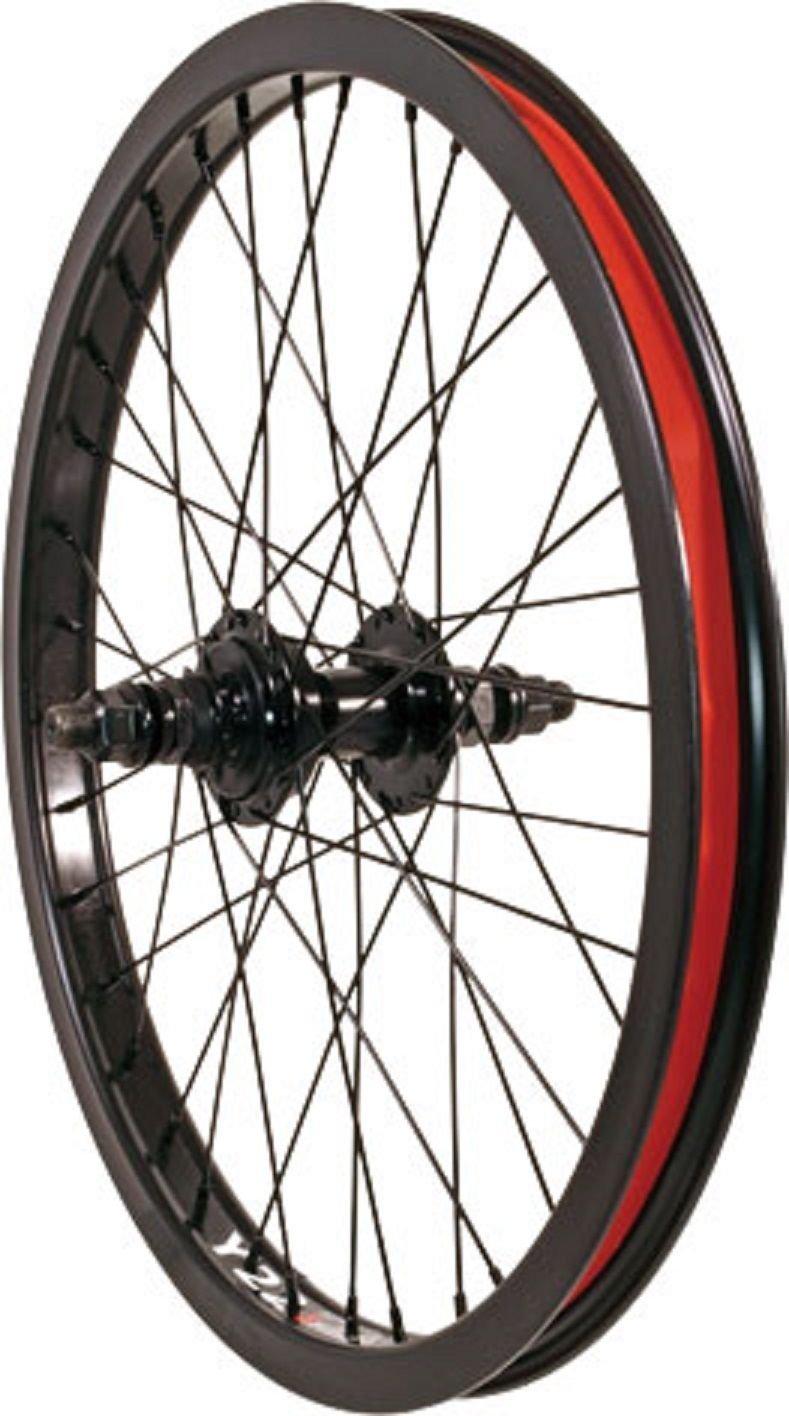"""Alex Curbdog 36H--14mm--RHD--9T Driver 20"""" X 1.75"""" Black Rear Bicycle Wheel"""