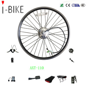 china factory sell e bike parts 26 inch electric bike conversion kit with brushless geared hub motor