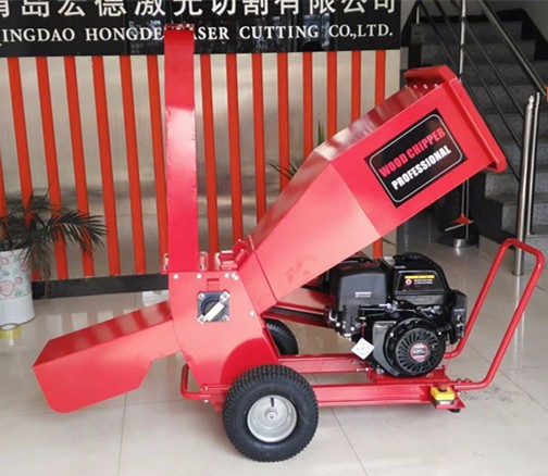 CE Certificated Wood Chipper Shredder Machine SCP100-15H with Gasoline Engine /Electric