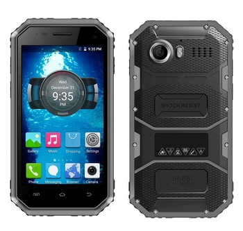 finest selection eb1fc dce3f Cheapest 4.5 inch Android 7.0 rugged phone 1+8 IP68 waterproof smartphone  3G Mobile phone with 2600mAh battery, View Android 7.0 rugged phone, HIDON  ...